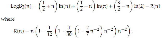 Asymptotic approximations and inclusions of the bernoulli numbers we see that formula 2 as well as formula 3 are refinements of formula 1 we are now focusing on formula 3 in its exponential form explogb3n sciox Choice Image